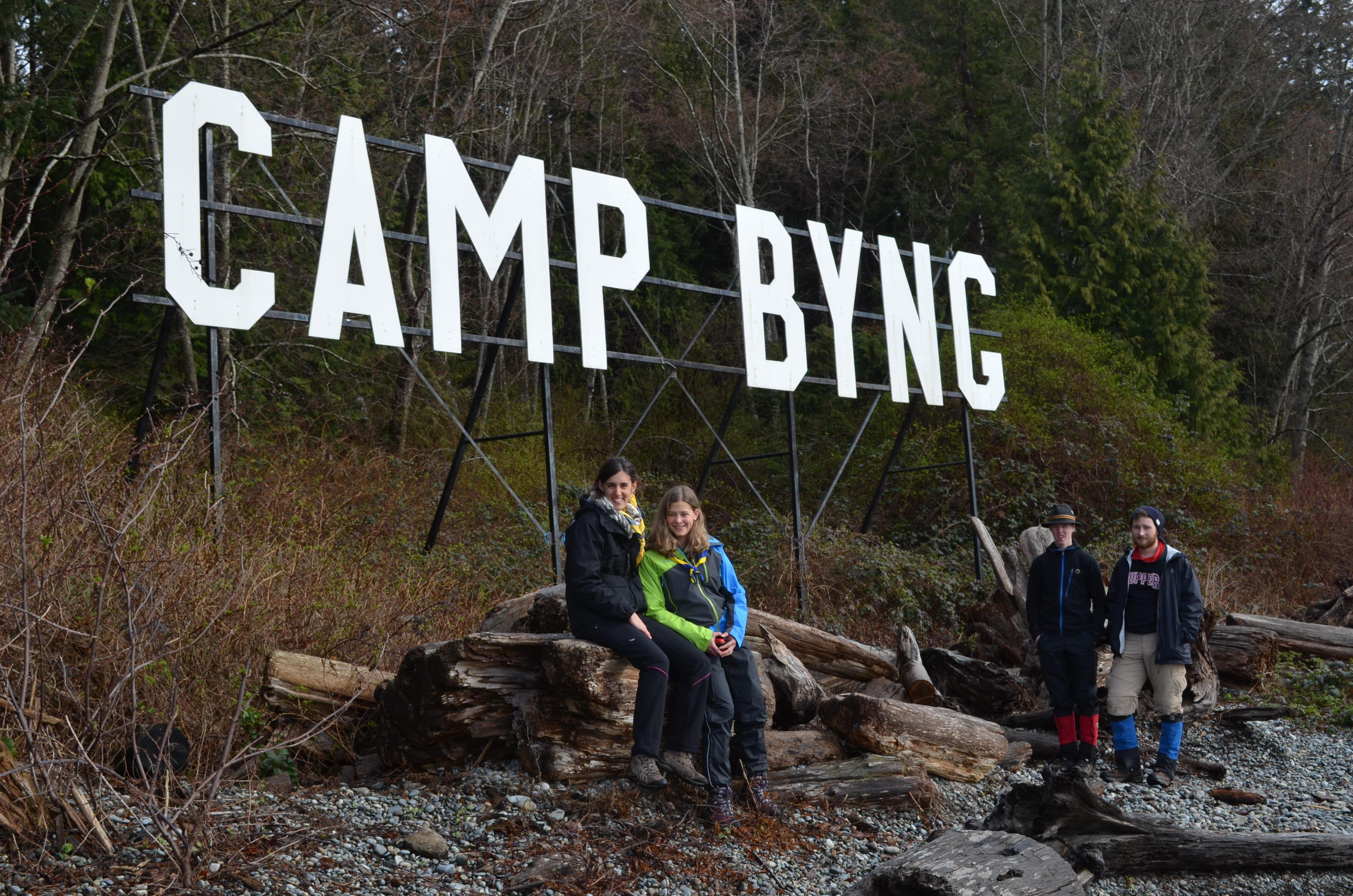 Descobrint l'espectacular terreny de Camp Byng que tenen a Vancouver Island